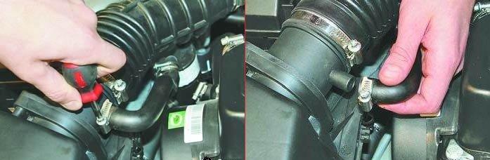 Замена воздушного фильтра на амулете